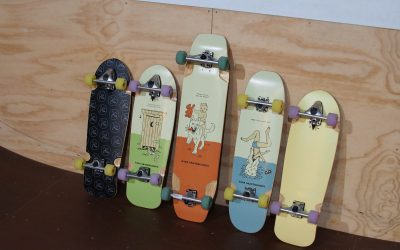 Check out the new range from NANA Skateboards