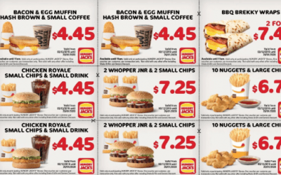 Save this Summer! New Hungry Jacks Vouchers are here!
