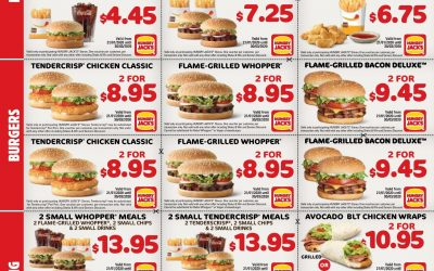 New Year, New Hungry Jacks Coupons!