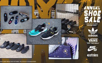 Annual Instore Shoe Sale