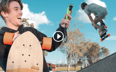 HOW A SKATER RIDES AN EVOLVE