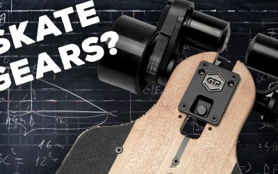 GEARS ON A SKATEBOARD?! More From Evolve Electric Skateboards