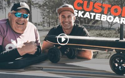 Skating Without Legs – John Coutis & Evolve Skateboards