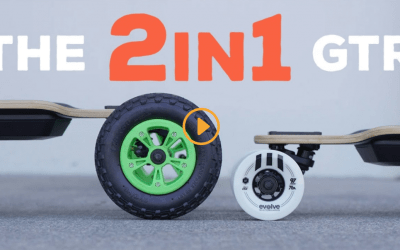 THE EVOLVE 2in1 ELECTRIC SKATEBOARD – GTR SERIES
