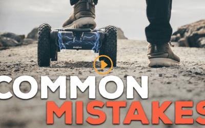 Common E-Skateboard Mistakes – EVOLVE SKATEBOARDS