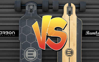 Carbon vs Bamboo – Evolve Skateboards